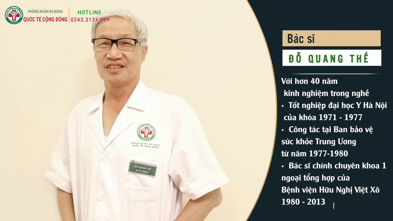 Thành tích mà bác sĩ Đỗ Quang Thế đạt được