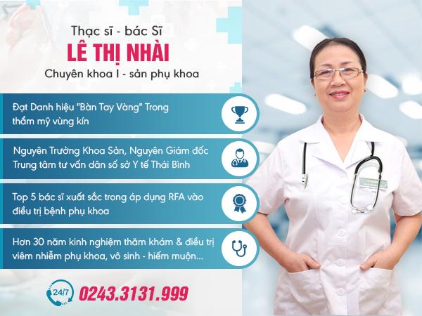 Tiểu sử của bác sĩ Lê Thị Nhài