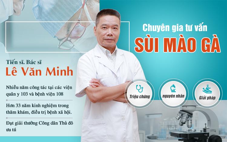 Các hạng mục công tác của bác sĩ Lê Văn Minh