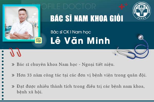 Những thành tích xuất sắc mà bác sĩ Lê Văn Minh đã đạt được