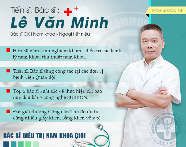 Bác sĩ CKI Nam học – Tiết niệu Lê Văn Minh