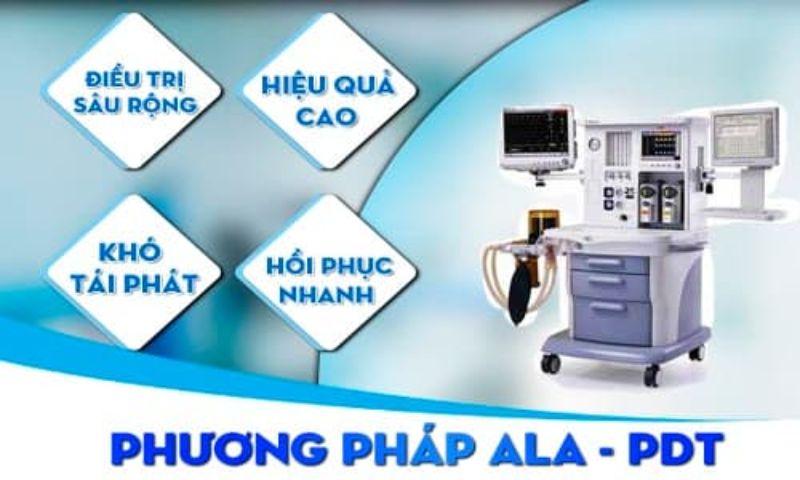 Chữa trị sùi mào gà bằng phương pháp ALA – PDT