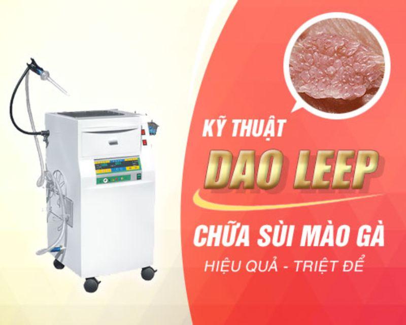Chữa sùi mào gà bằng phương pháp LEEP
