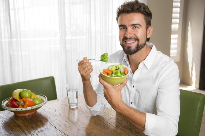 Hình 3: Chế độ ăn uống thích hợp