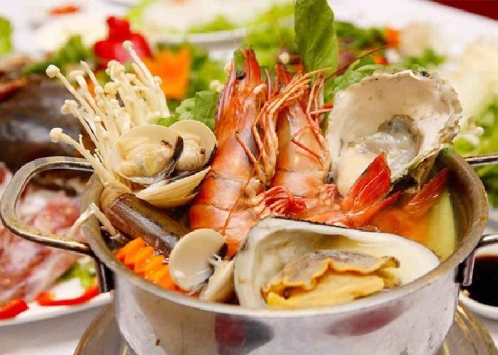 Hình 5: Kiêng ăn đồ hải sản