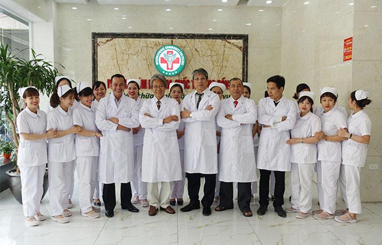 Đội ngũ bác sĩ chuyên khoa phòng khám đa khoa quốc tế cộng đồng
