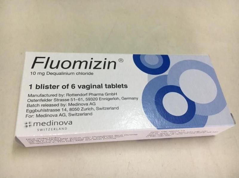 Thuốc đặt viêm Fluomizin