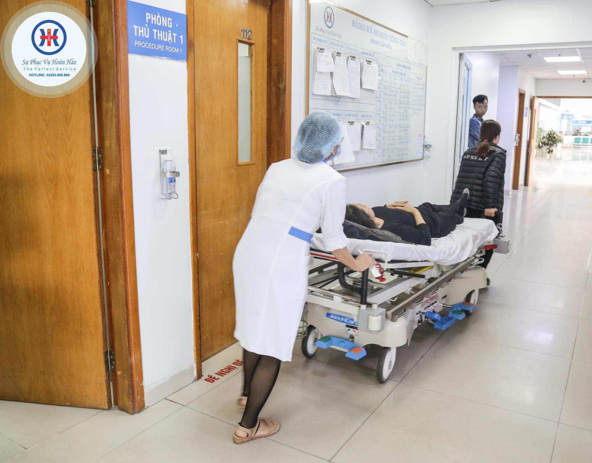 dịch vụ bệnh viện đa khoa Quốc tế hải Phòng