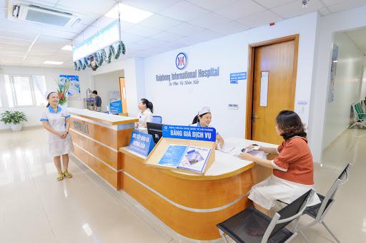 Quy trình khám chữa tại bệnh viện đa khoa Quốc tế Hải Phòng