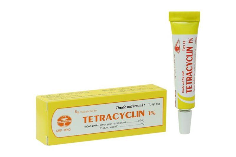 Thuốc bôi làm giãn bao quy đầu – Tetracyclin 1%