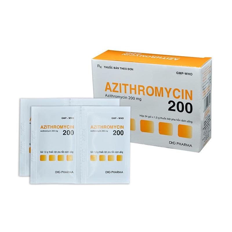 Thuốc kháng sinh Azithromycin điều trị viêm niệu đạo rất hiệu quả