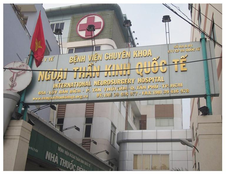 Thông tin Khám chữa tại bệnh viện chuyên khoa Ngoại thần kinh Quốc tế