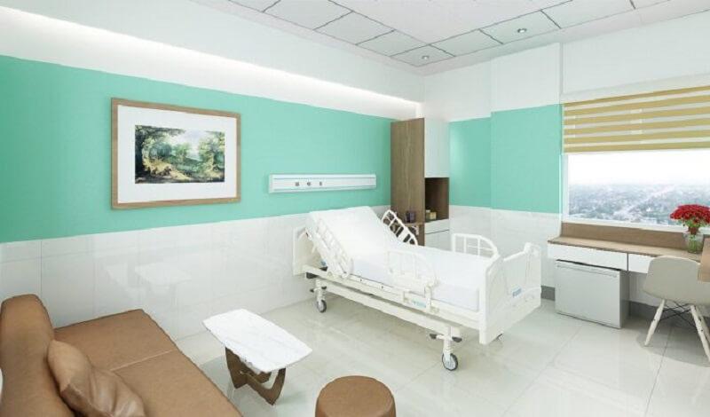 Bệnh viện khang trang, sạch sẽ