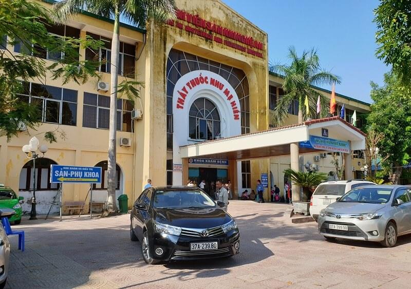 Bệnh viện được thành lập từ những năm 1985