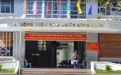 Bệnh viện tâm thần Bình Định: quy trình và thời gian khám bệnh