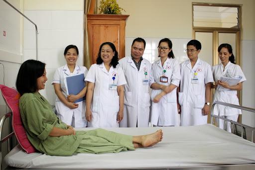 Đội ngũ các bác sĩ tại bệnh viện Đa khoa tỉnh Quảng Ninh