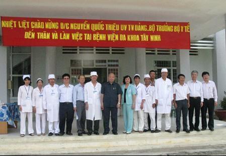 Cơ cấu tổ chức hoạt động của bệnh viện đa khoa Tây Ninh
