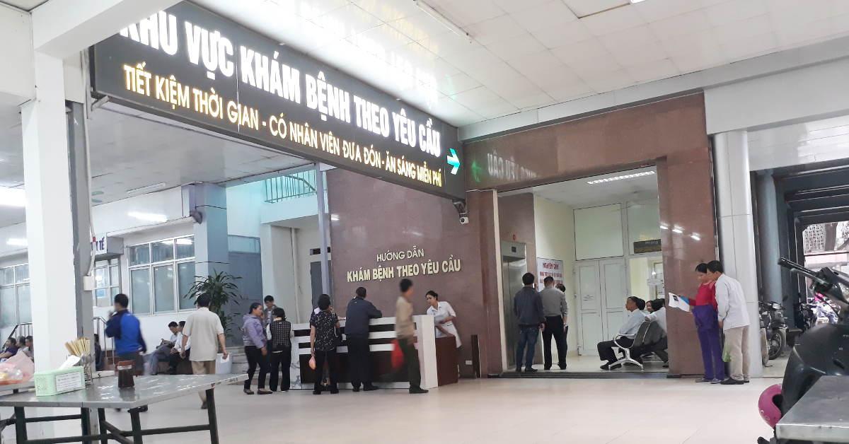 Quy trình khám bệnh tại bệnh viện Việt Thắng