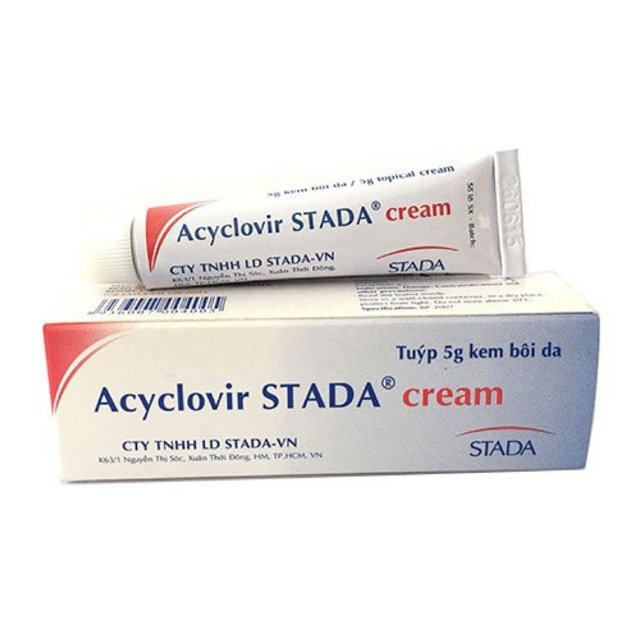Thuốc điều trị mụn rộp sinh dục Acyclovir