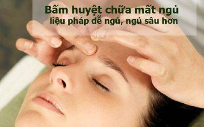 Mách bạn cách bấm huyệt chữa mất ngủ đơn giản mà hiệu quả tức thì