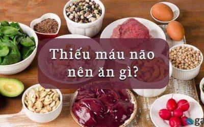 Thiếu máu não nên ăn gì uống gì? Tổng hợp +10 thực phẩm tốt