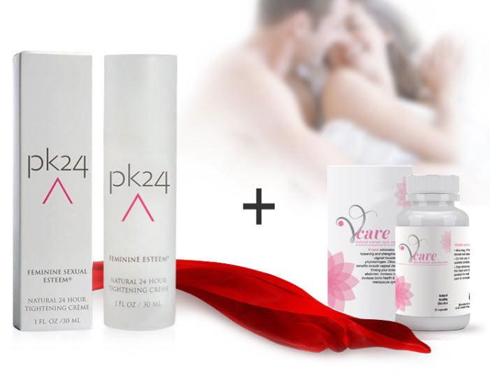 Gel se khít và làm hồng vùng kín PK24