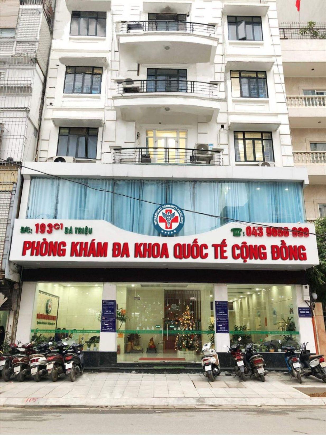 Phòng khám Đa Khoa Quốc Tế Cộng Đồng 193 Bà Triệu